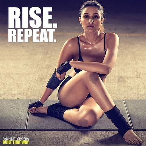 Parineeti Chopra exercise