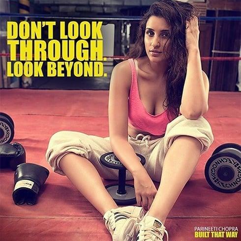 Parineeti Chopra in gym
