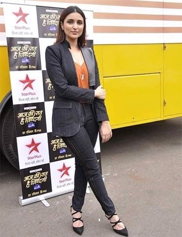 Parineeti Chopra in pant suit