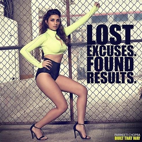 parineeti lost exercise