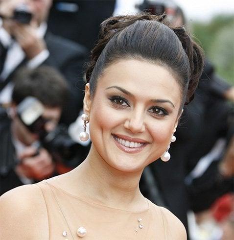 Preity Zinta dimples