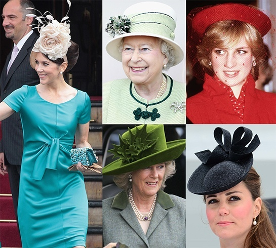 Royal Head Fascinators Hats