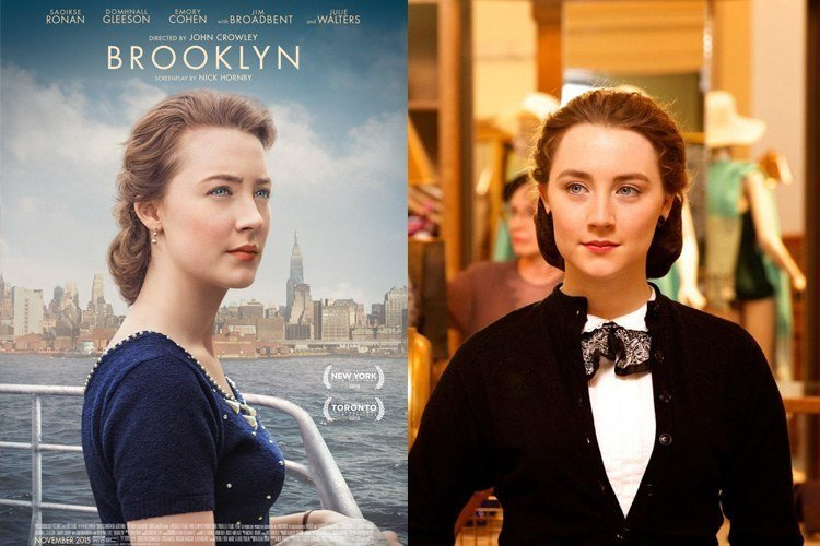 Saoirse Ronan for Brooklyn