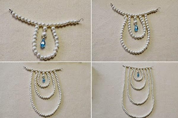 Shoulder jewelry diy