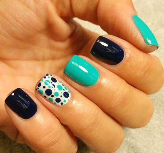 simple nail art step by step - 130 Easy And Beautiful Nail Art Designs 2018 Just For You