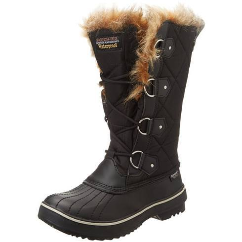 fashionable snow boots for to wear when going to the