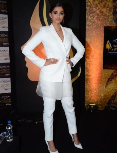 Sonam Kapoor in pant suit