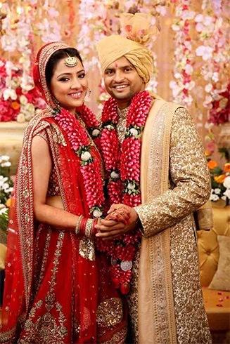 Suresh Raina and Priyanka Chaudhary Wedding