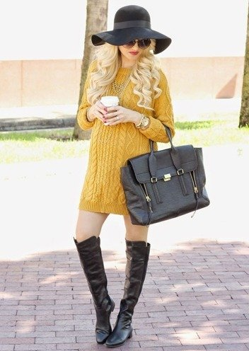 sweater dress fashion for womens