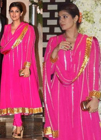 Twinkle Khanna in Abu Jani & Sandeep Khosla