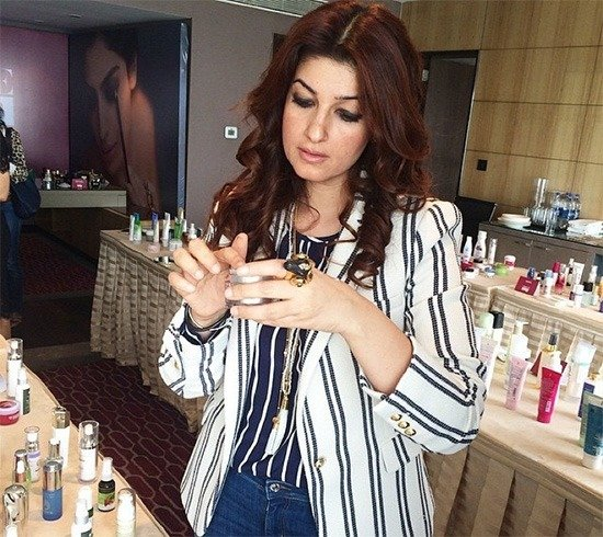 Twinkle Khanna skin care products