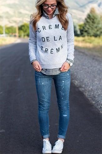 Ways To Wear Sweat shirts