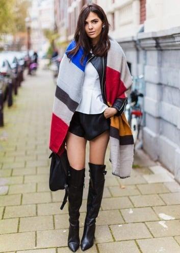 winter scarf fashion