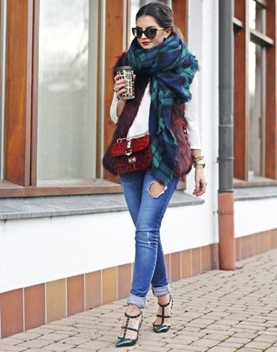 winter scarves fashion