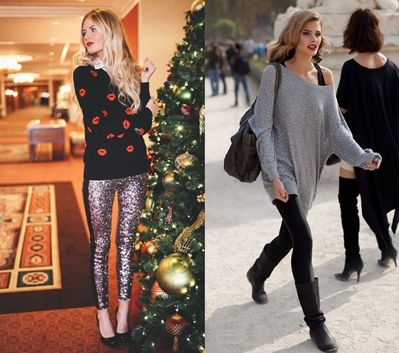 Leggings can take a simple outfit to the next level, providing warmth or cool winter days and style any other day of the year. Shop leggings for all the women in the family—from old to young. Women of all ages, shapes and sizes look fabulous in a great pair of sweater leggings. For those cold winter days, leggings are comforting when worn under pants.