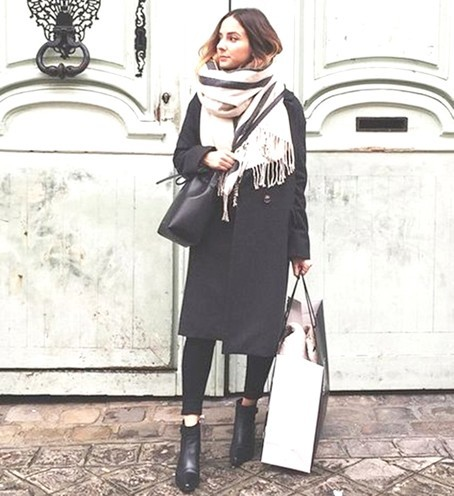 womens scarf fashion