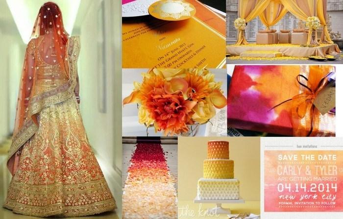 2016 wedding color palettes
