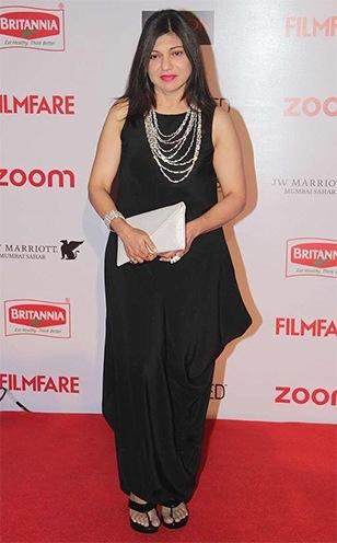 Alka Yagnik Hydari in Filmfare pre awards