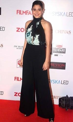 Anushka Sharma At Filmfare Pre Awards Party