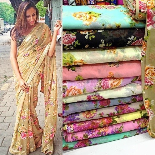 Best Cotton saree patterns