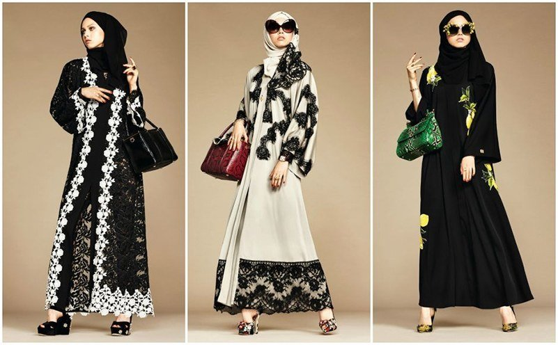 Dolce and Gabbana Launch First Hijab Collections