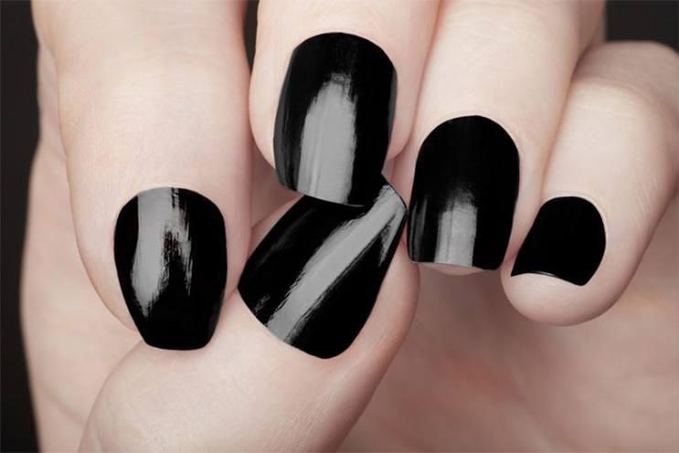 Drastic Dark Nail Art