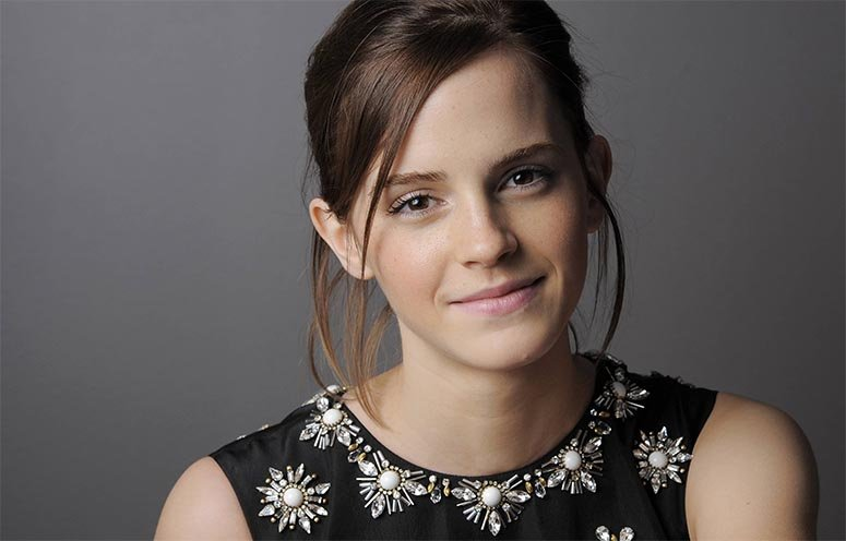 Emma Watson No Makeup Natural Look
