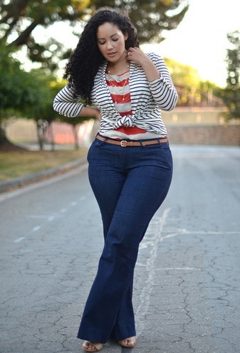 What To Wear To Look Thinner? Cute Plus Size Outfits To Make You Look Like A Diva