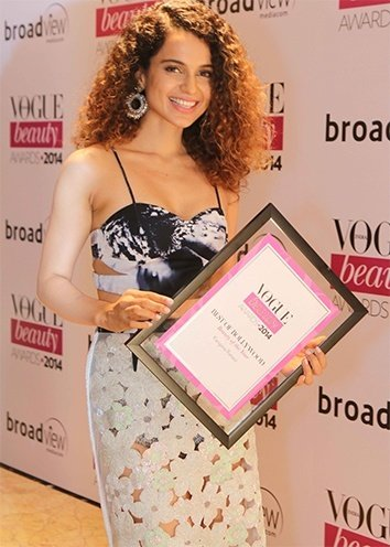 Kangana Ranaut Vogue Beauty Awards in Taj Landsend Mumbai