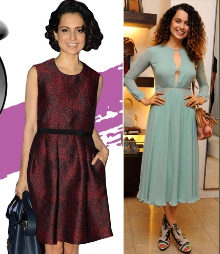 Kangana beautiful ombre shade