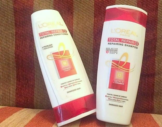 LOreal Paris Total Repair 5 Repairing Shampoo