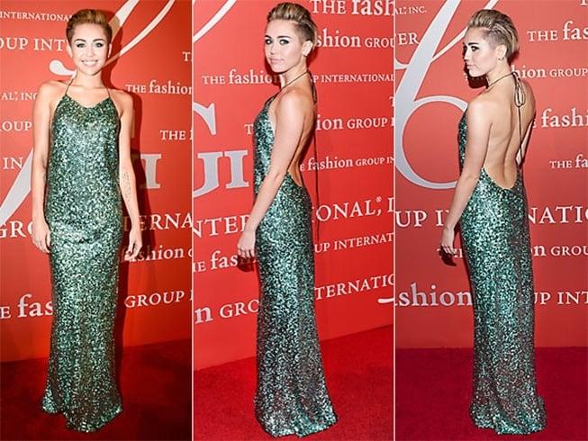 Miley Cyrus Red Carpet Fashion Awards