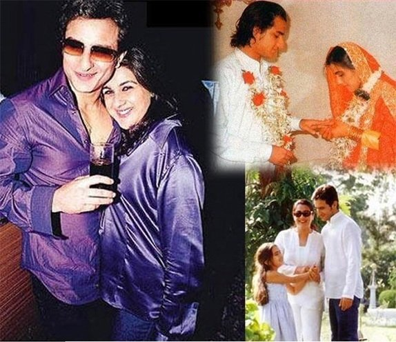 Secret Weddings of Amrita Singh And Saif Ali Khan