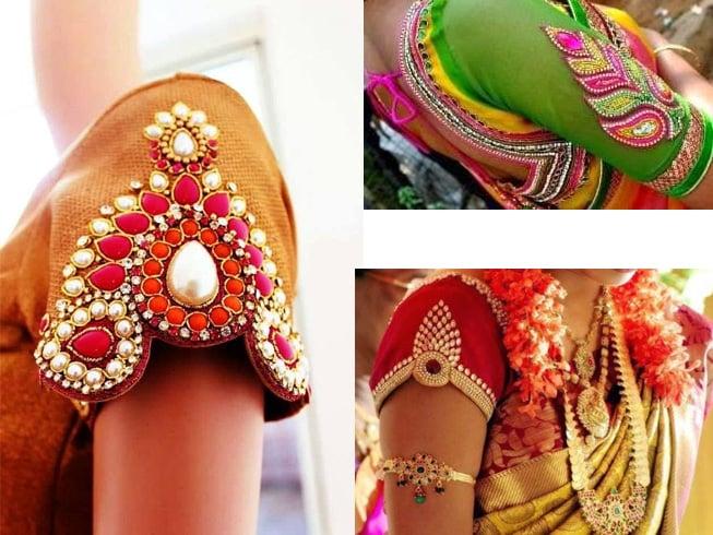 Sleeve Styles For Aari Work Designs