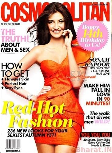 Sonam Kapoor dressed for Mandira Wirk