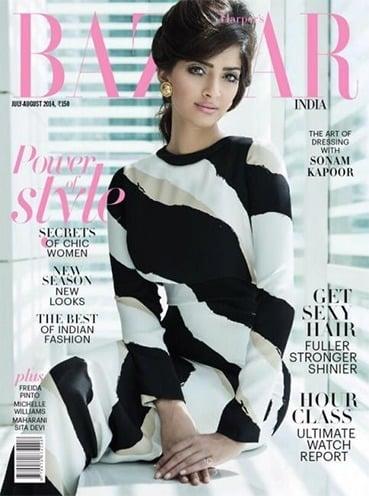 Sonam Kapoor photoshoot for magazine