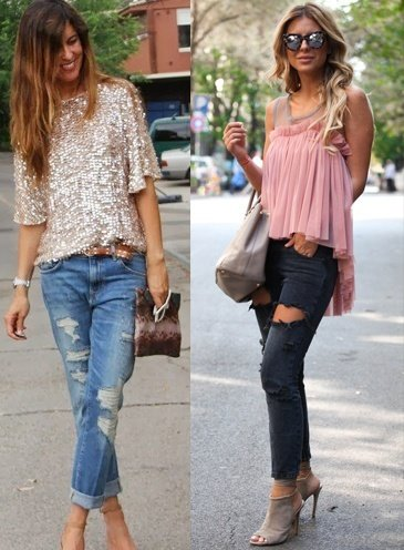 Style Tips On How To Wear Distressed Denim