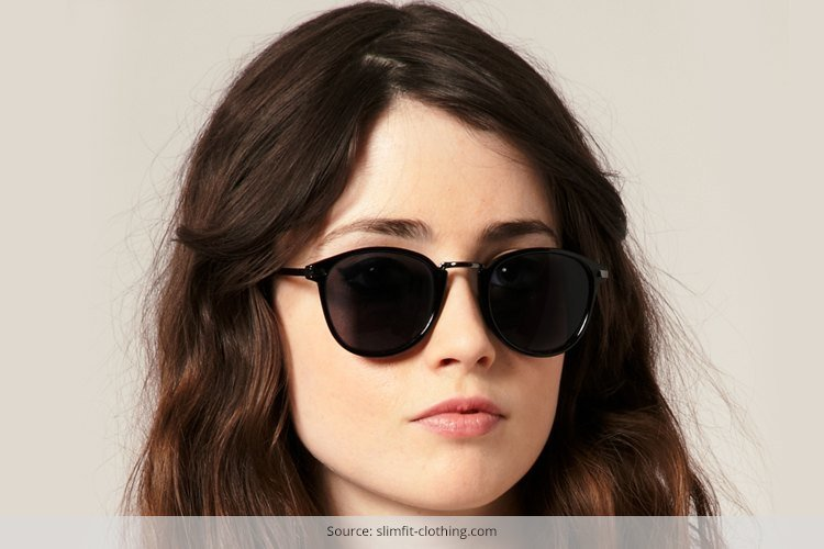 Retro Sunglasses For Round Face