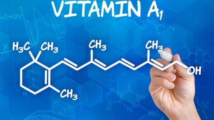Uses of vitamin a for skin