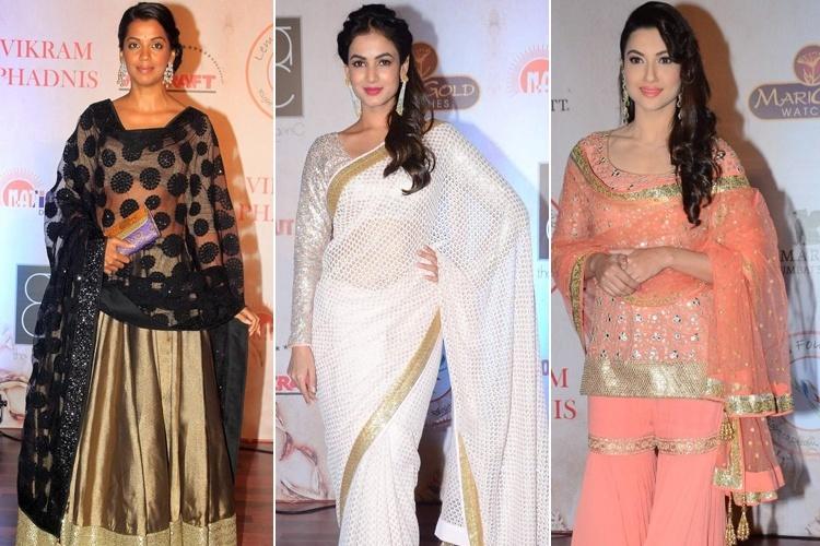 Vikram Phadniss 25th Fashion Show