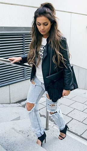 Ways To Wear Distressed Denim