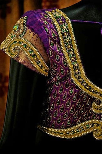c646984c7af510 Luxe Aari Work Designs And Outfits To Try At Weddings