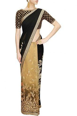 Aari Work Saree Designs