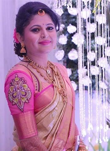 Aari Work Wedding Blouse