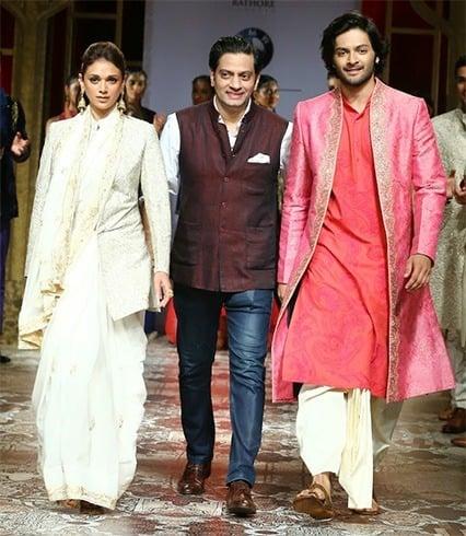 Aditi Rao Hydari and Ali Afzal walks for Raghavendra Rathore