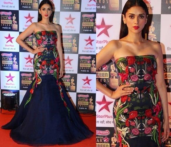 Aditi Rao Hydari at Star Screen Awards 2016
