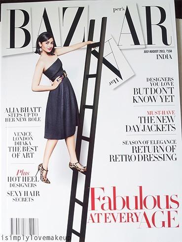 Alia Bhatt Harpers Bazaar magazine