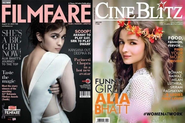 Alia Bhatt Magazine Cover