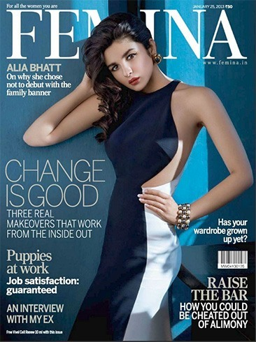 Alia Bhatt on Femina