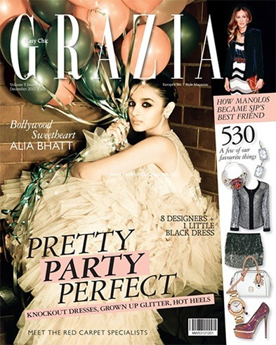 Alia Bhatt on Grazia